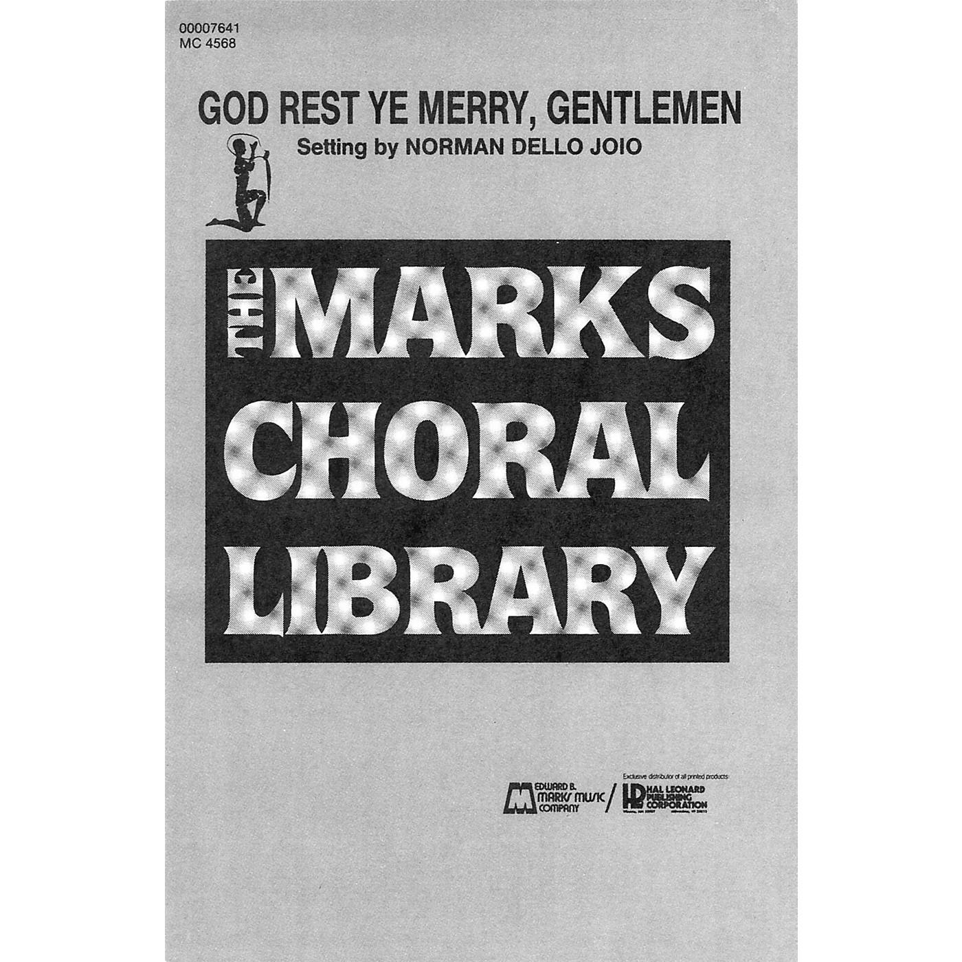 Hal Leonard God Rest Ye, Merry Gentlemen (SATB, piano 4 hands) SATB thumbnail