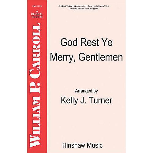 Hinshaw Music God Rest Ye Merry Gentlemen TTBB arranged by Turner thumbnail