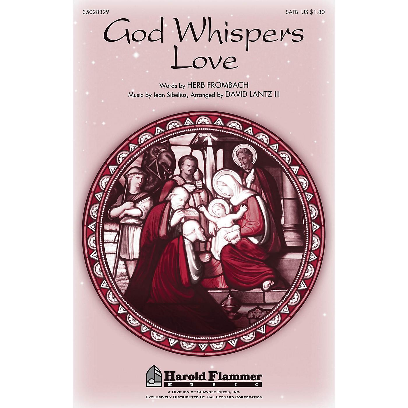 Shawnee Press God Whispers Love SATB arranged by David Lantz III thumbnail