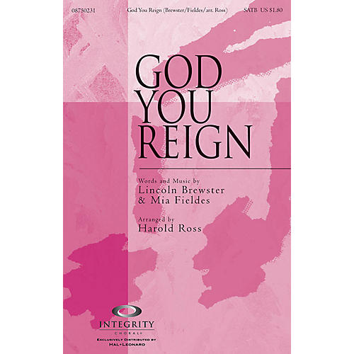 Integrity Choral God You Reign ORCHESTRA ACCOMPANIMENT by Lincoln Brewster Arranged by Harold Ross thumbnail