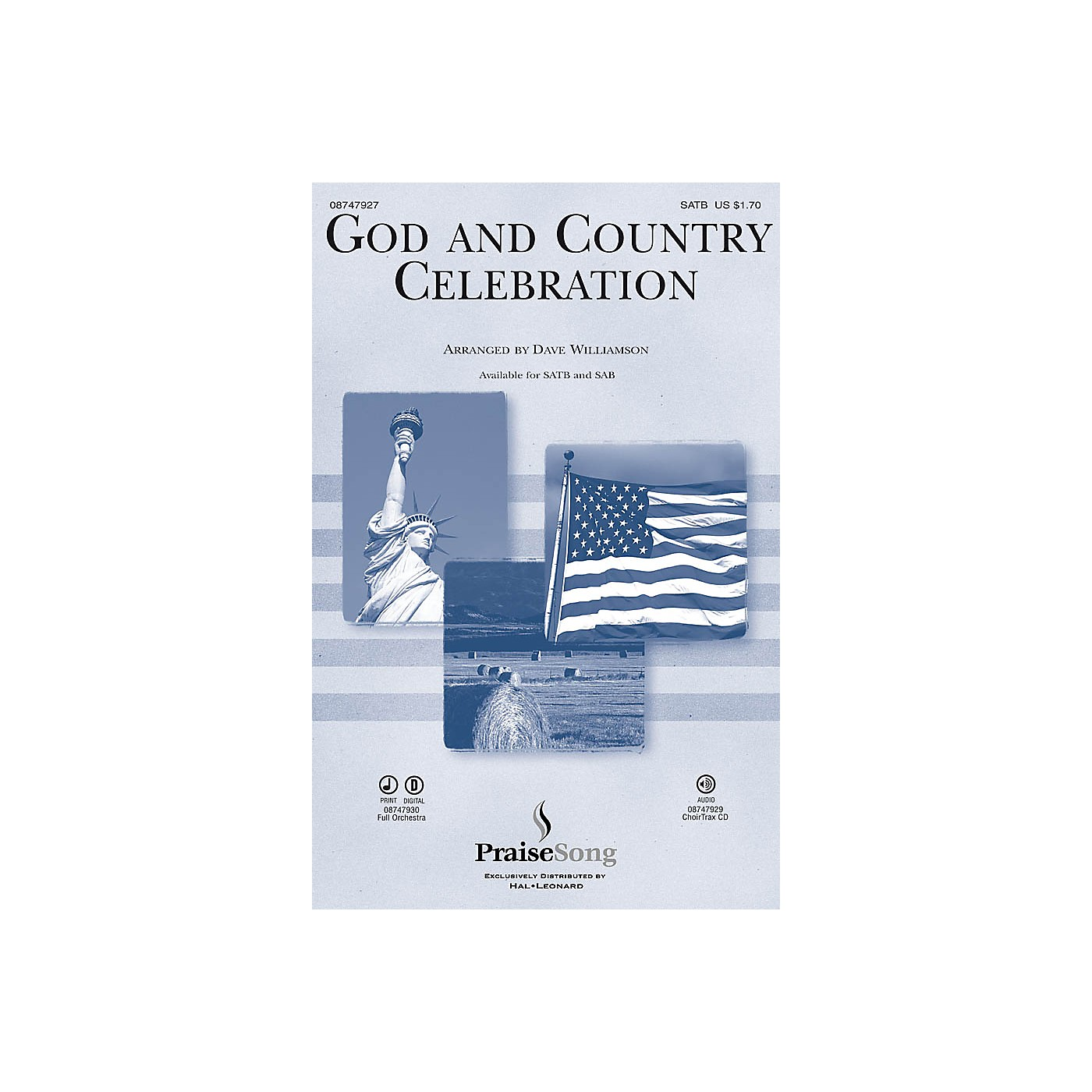 PraiseSong God and Country Celebration (Medley) IPAKO Arranged by Dave Williamson thumbnail