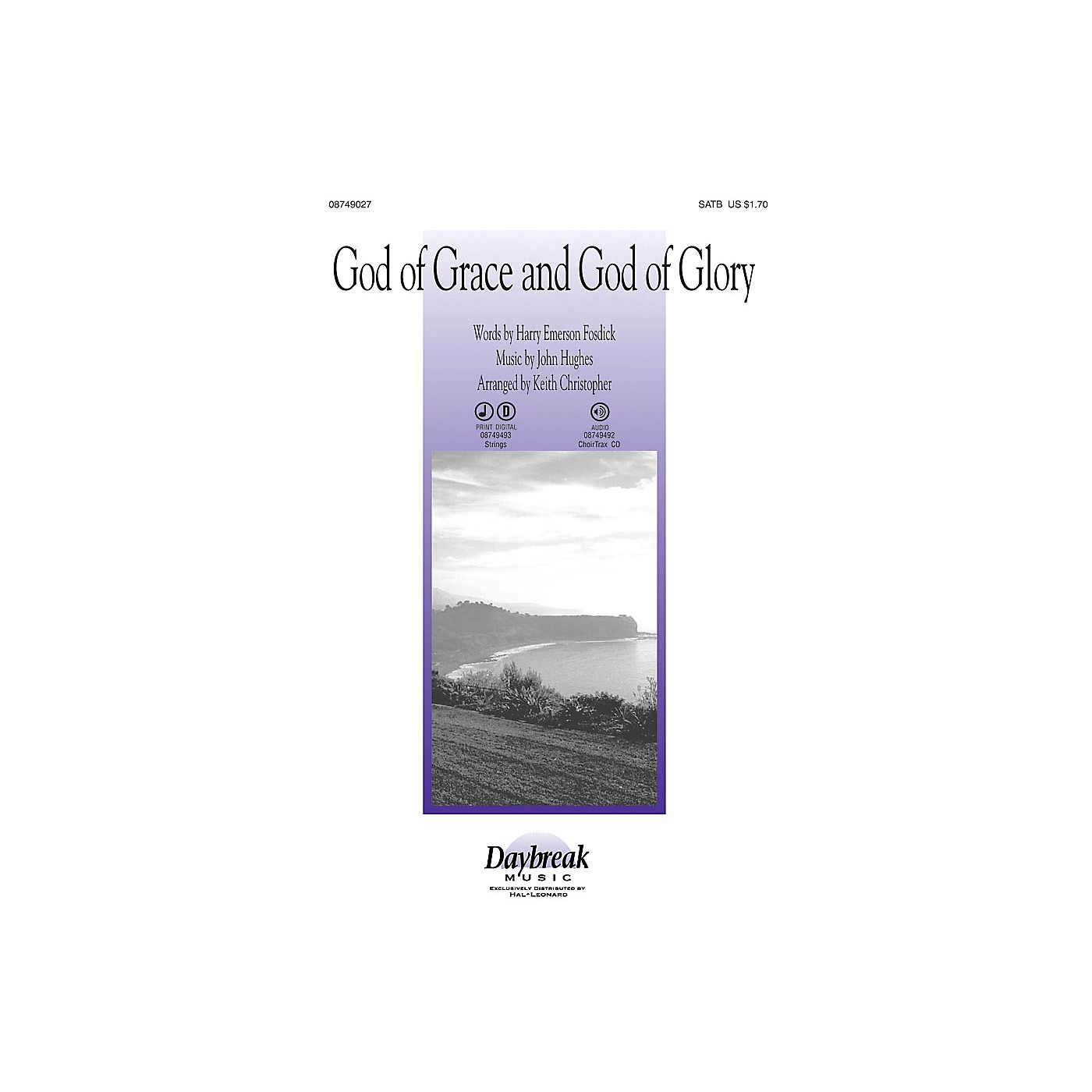 Daybreak Music God of Grace and God of Glory CHOIRTRAX CD Arranged by Keith Christopher thumbnail