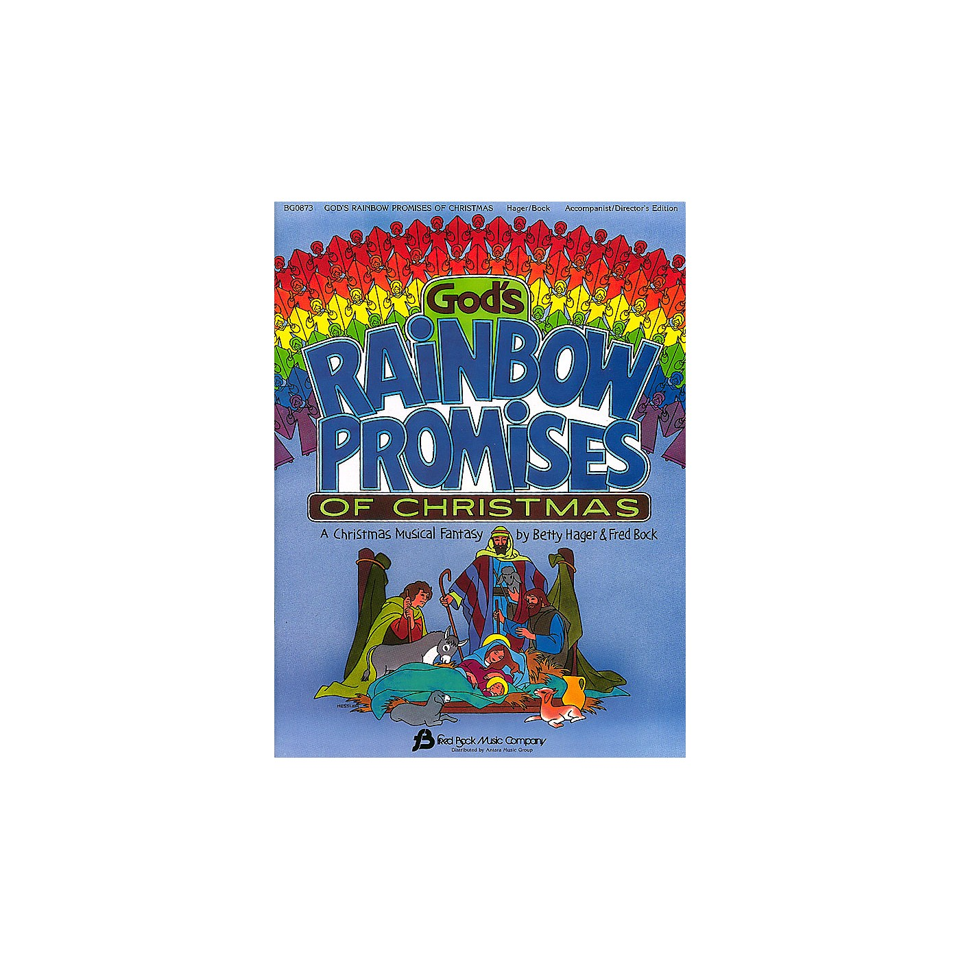 Fred Bock Music God's Rainbow Promises of Christmas composed by Fred Bock thumbnail