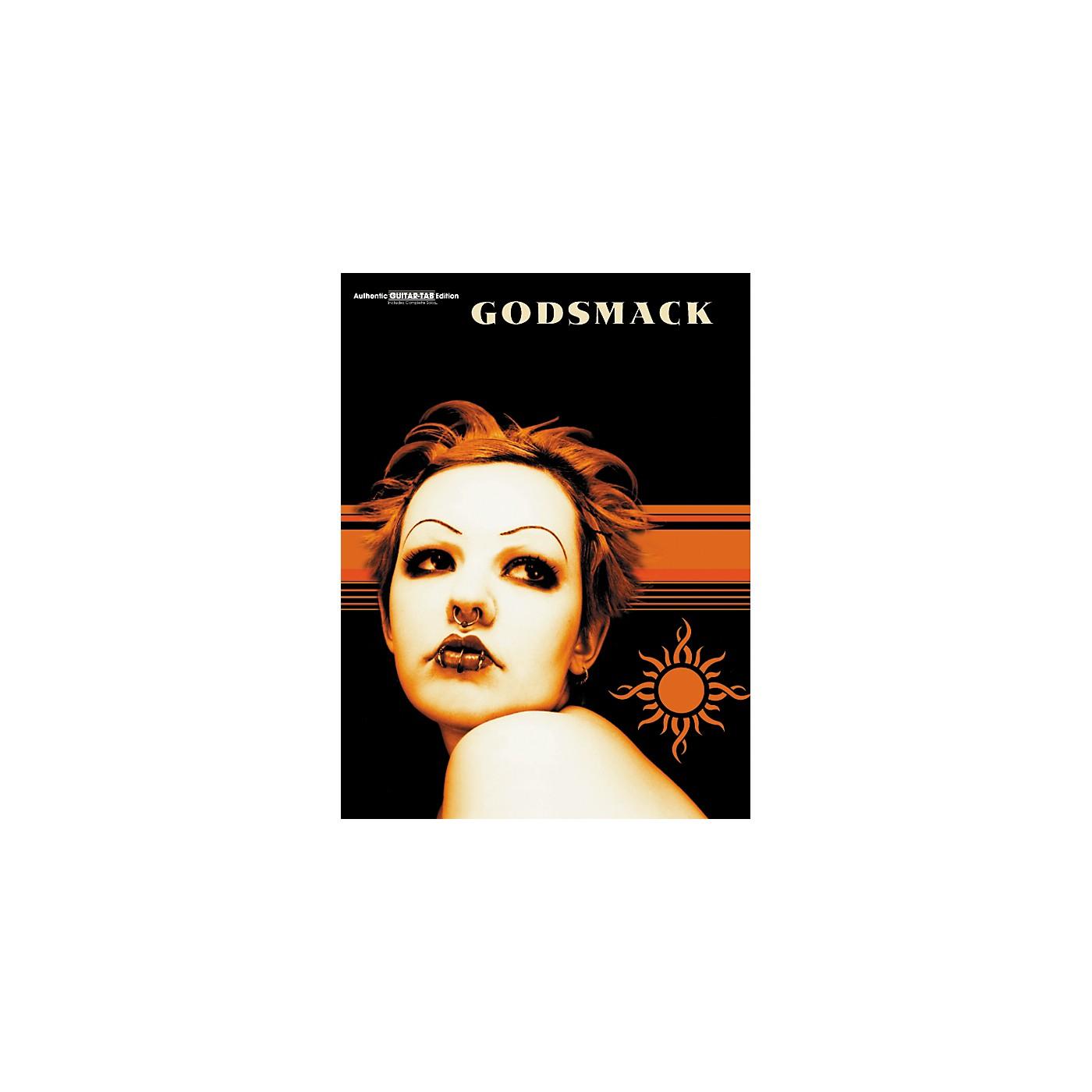 Hal Leonard Godsmack Guitar Tab Book thumbnail