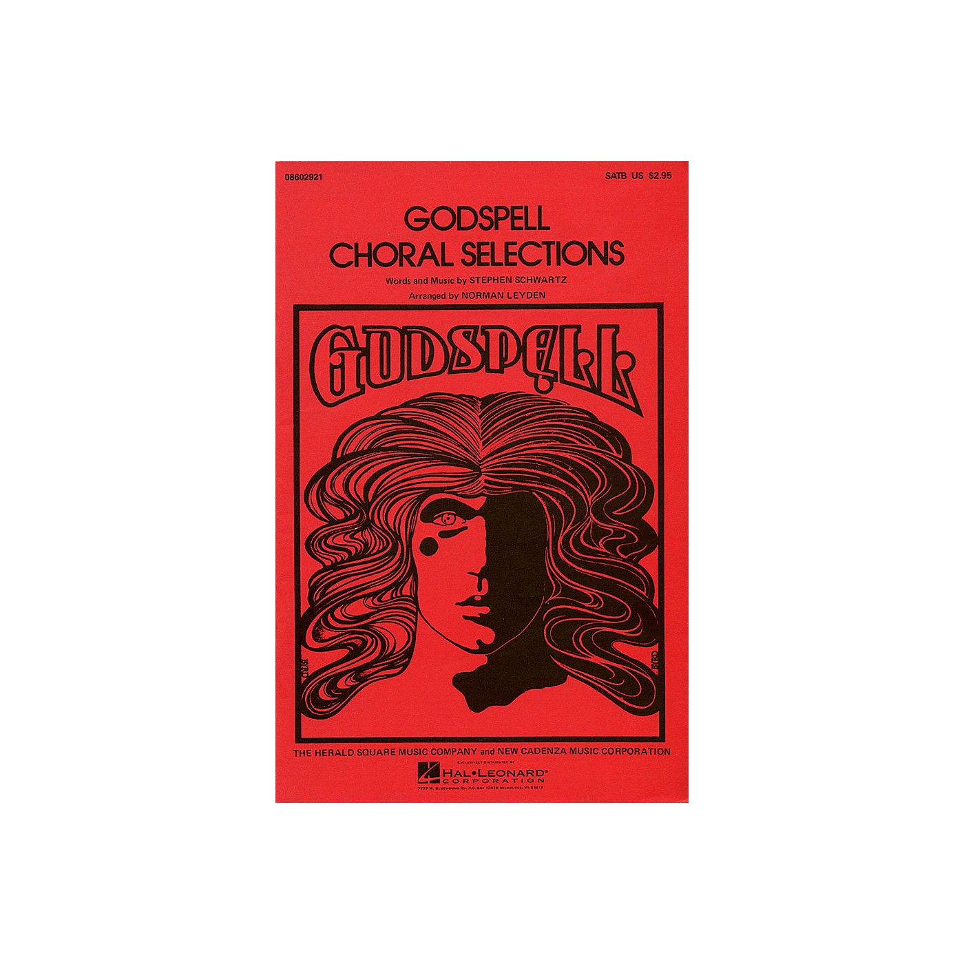 Hal Leonard Godspell (Choral Selections) SATB arranged by Norman Leyden thumbnail
