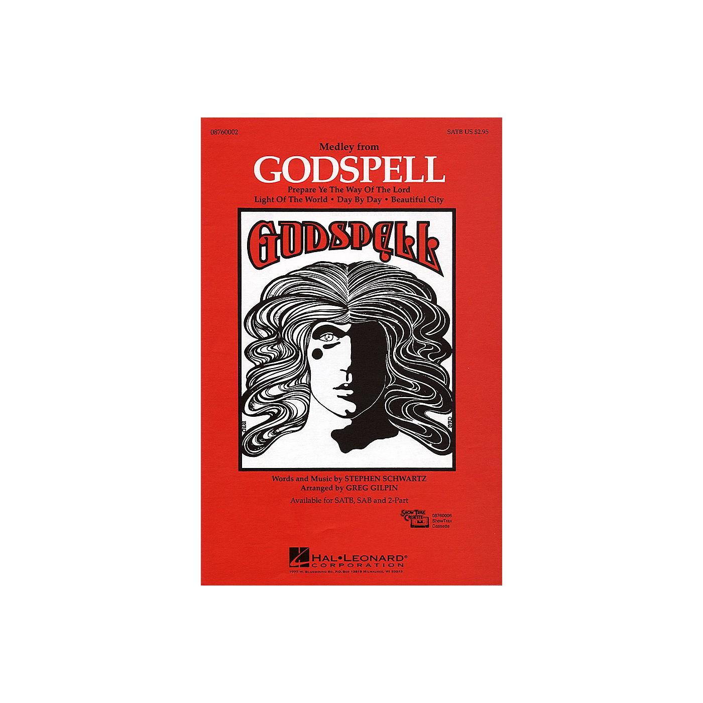 Hal Leonard Godspell (Medley) 2-Part Arranged by Greg Gilpin thumbnail