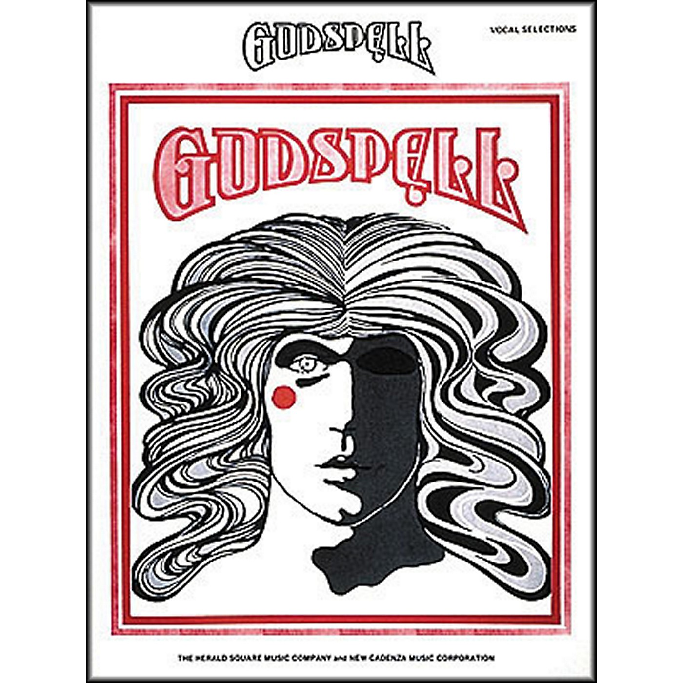 Hal Leonard Godspell Vocal Selection arranged for piano, vocal, and guitar (P/V/G) thumbnail