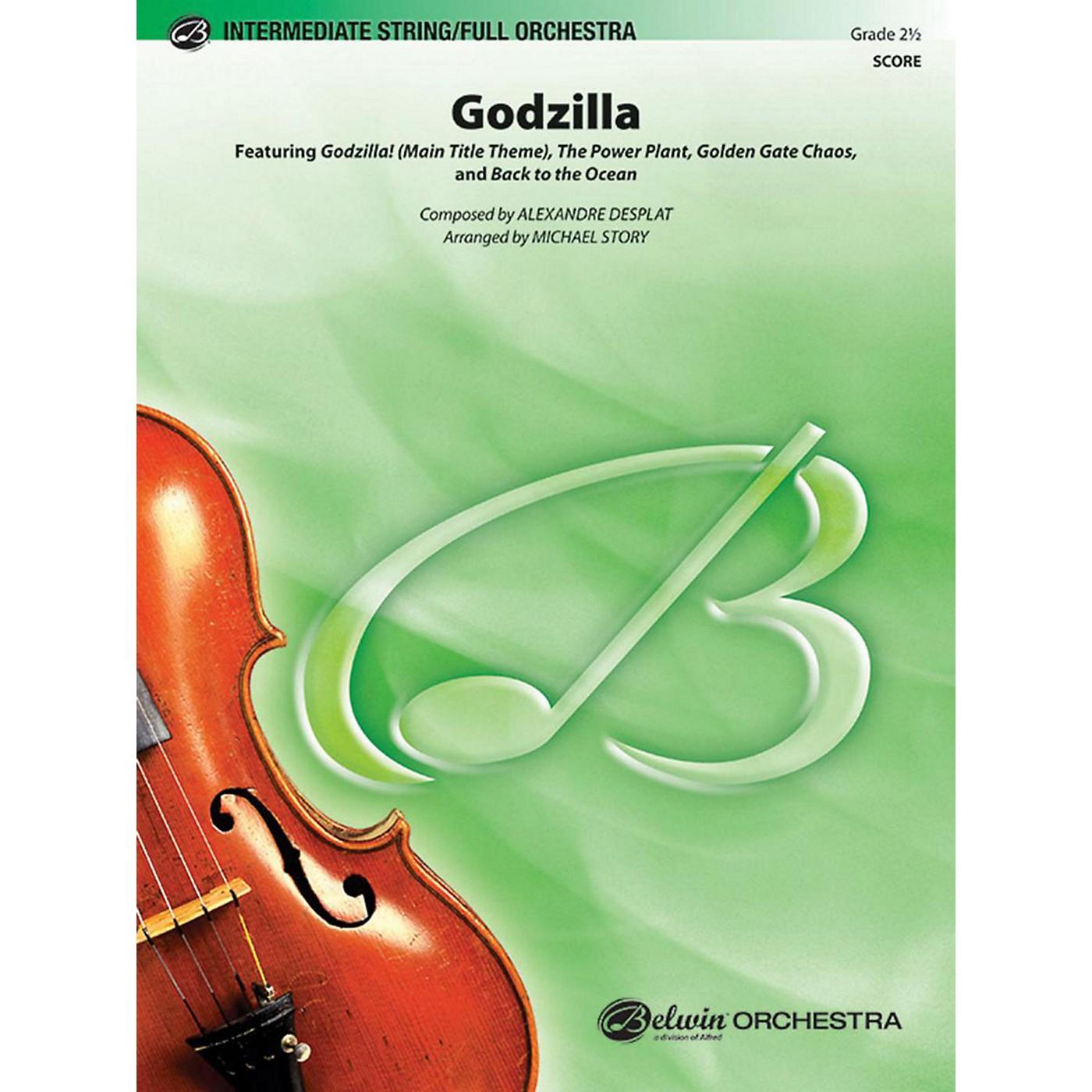 Alfred Godzilla Full Orchestra Grade 2.5 thumbnail