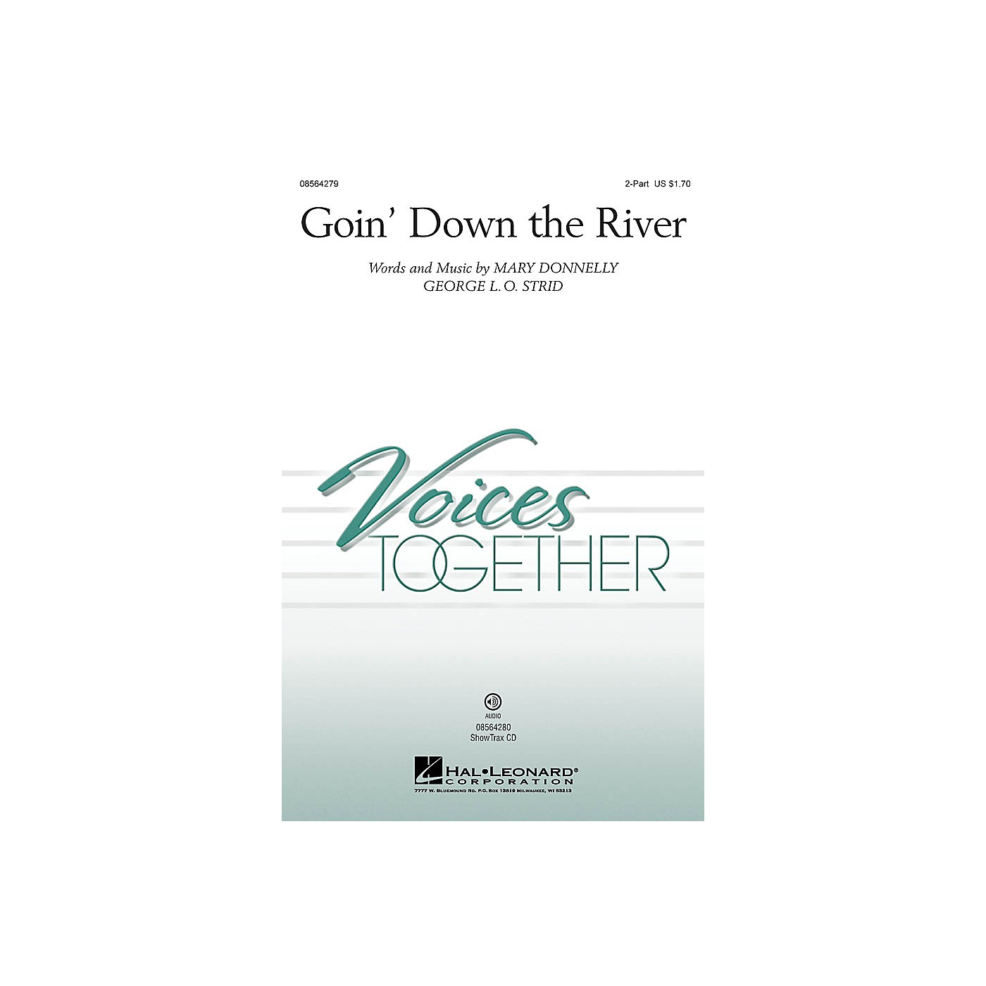 Hal Leonard Goin' Down the River ShowTrax CD Composed by Mary Donnelly thumbnail