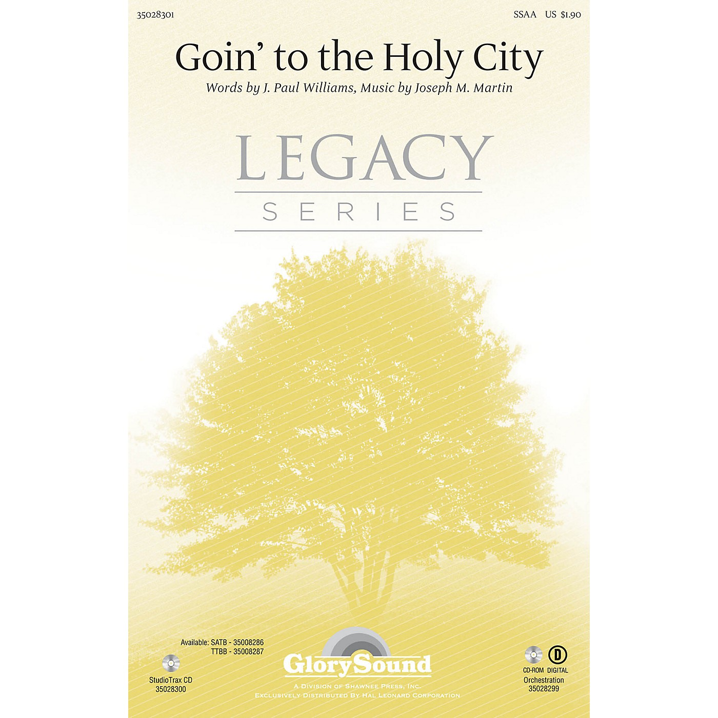 Shawnee Press Goin' to the Holy City SSAA composed by Joseph M. Martin thumbnail