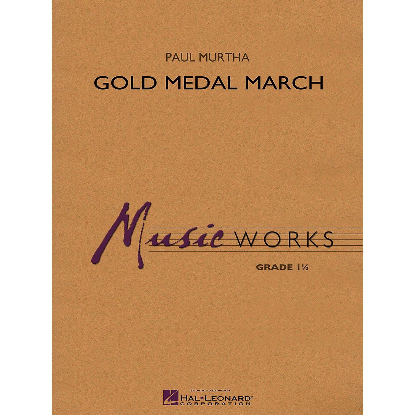 Hal Leonard Gold Medal March Concert Band Level 1 thumbnail