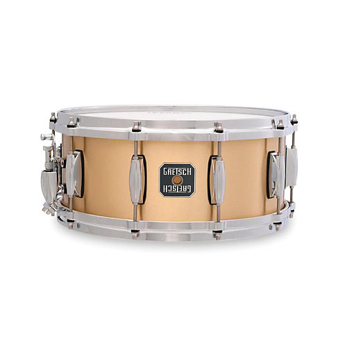 Gretsch Drums Gold Series Bell Brass Snare Drum thumbnail