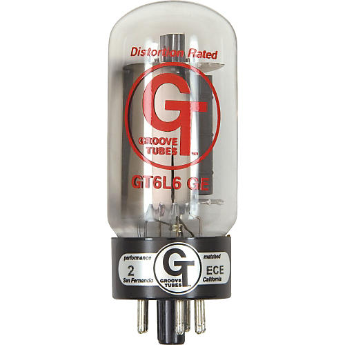 Groove Tubes Gold Series GT-6L6-GE Matched Power Tubes-thumbnail