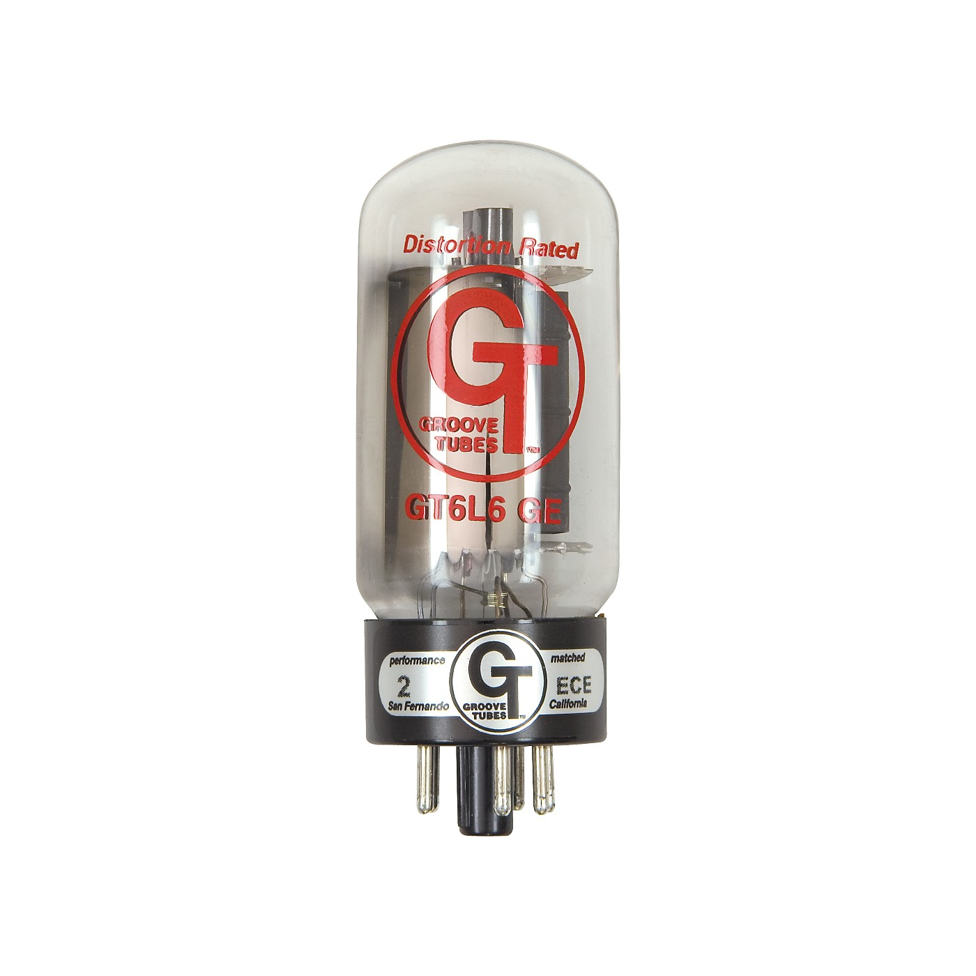 Groove Tubes Gold Series GT-6L6-GE Matched Power Tubes thumbnail