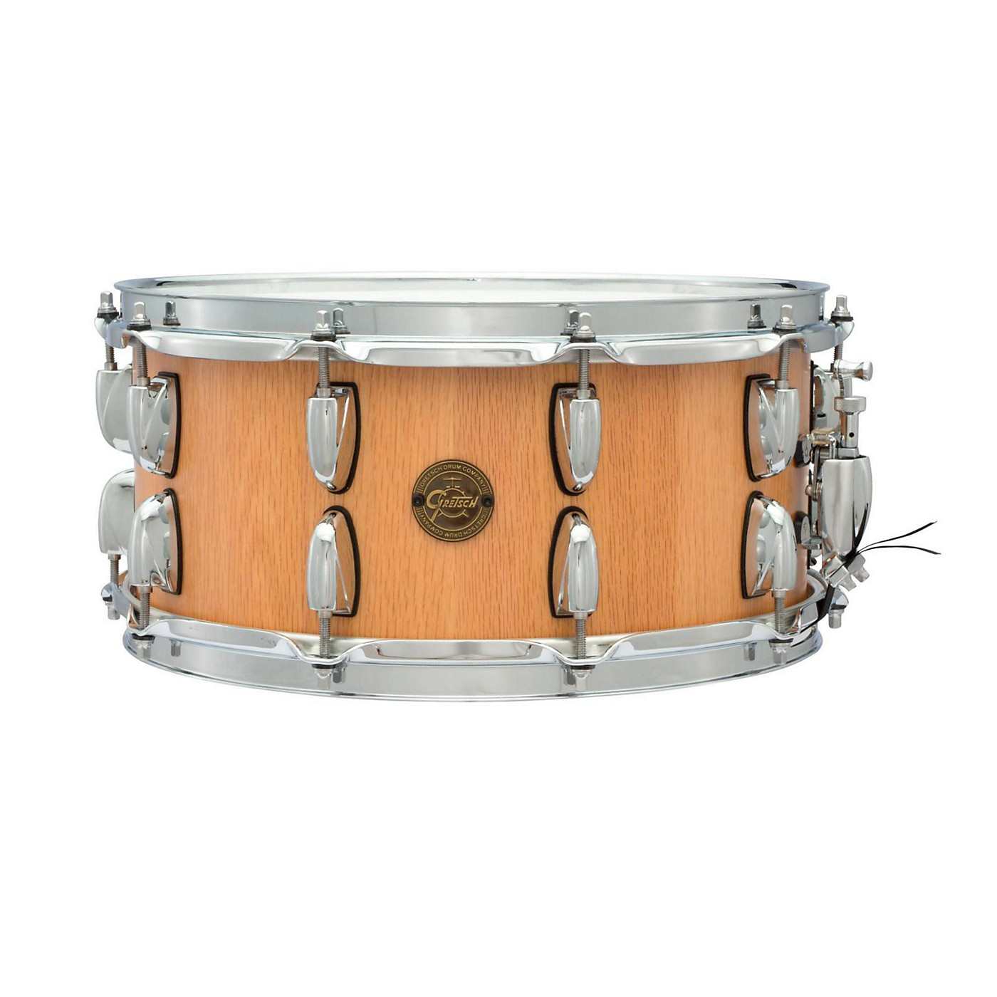 Gretsch Drums Gold Series Oak Stave Snare Drum thumbnail