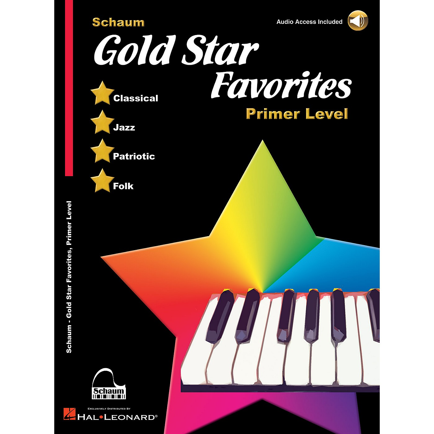SCHAUM Gold Star Favorites (Primer Level) Educational Piano Book with CD thumbnail