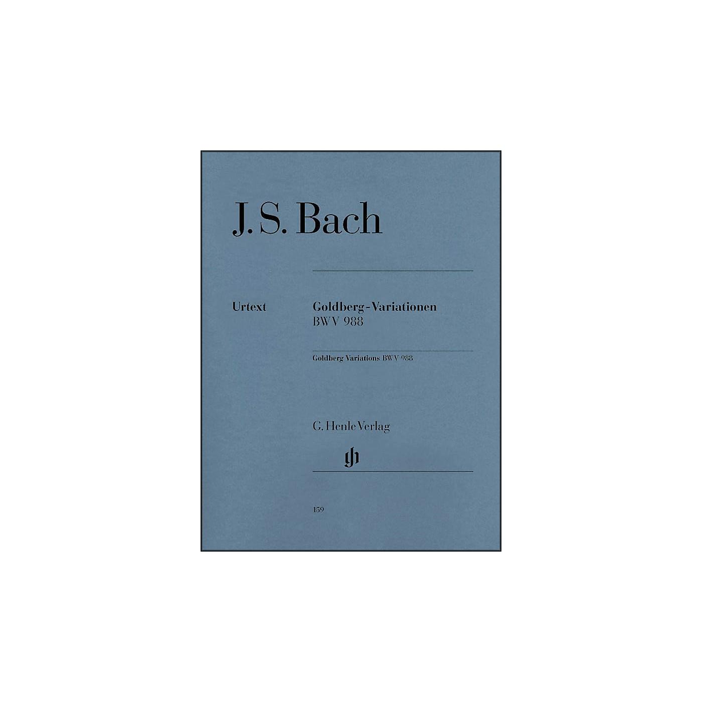 G. Henle Verlag Goldberg Variations BWV 988 By Bach thumbnail