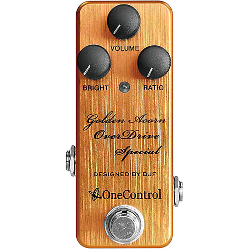 One Control Golden Acorn Overdrive Special Effects Pedal thumbnail