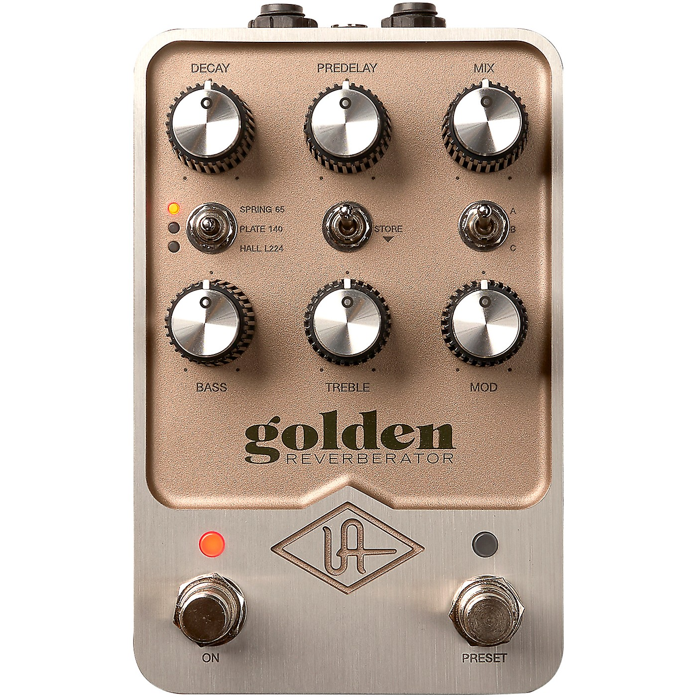 Universal Audio Golden Reverberator Effects Pedal thumbnail