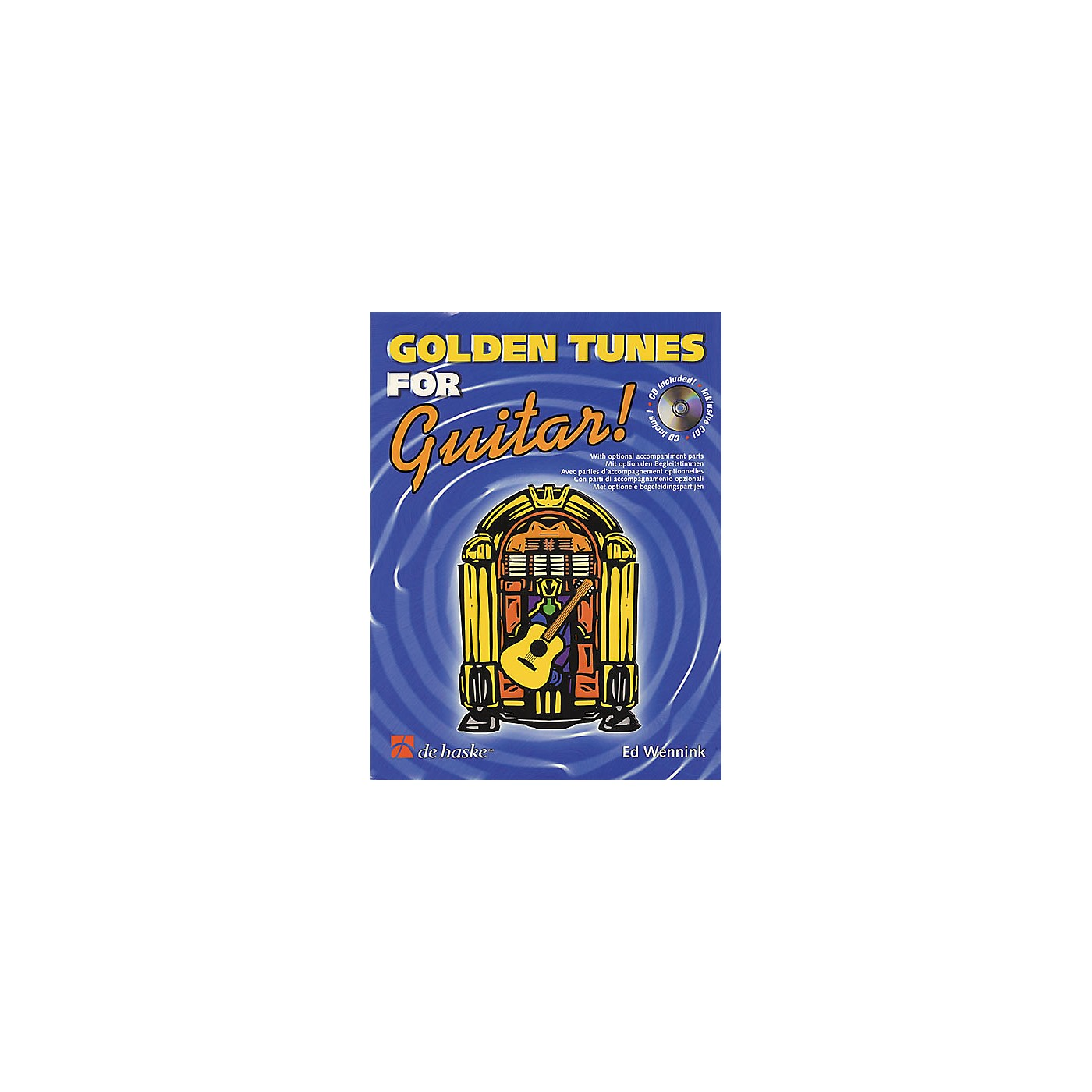 De Haske Music Golden Tunes for Guitar! Book with CD thumbnail