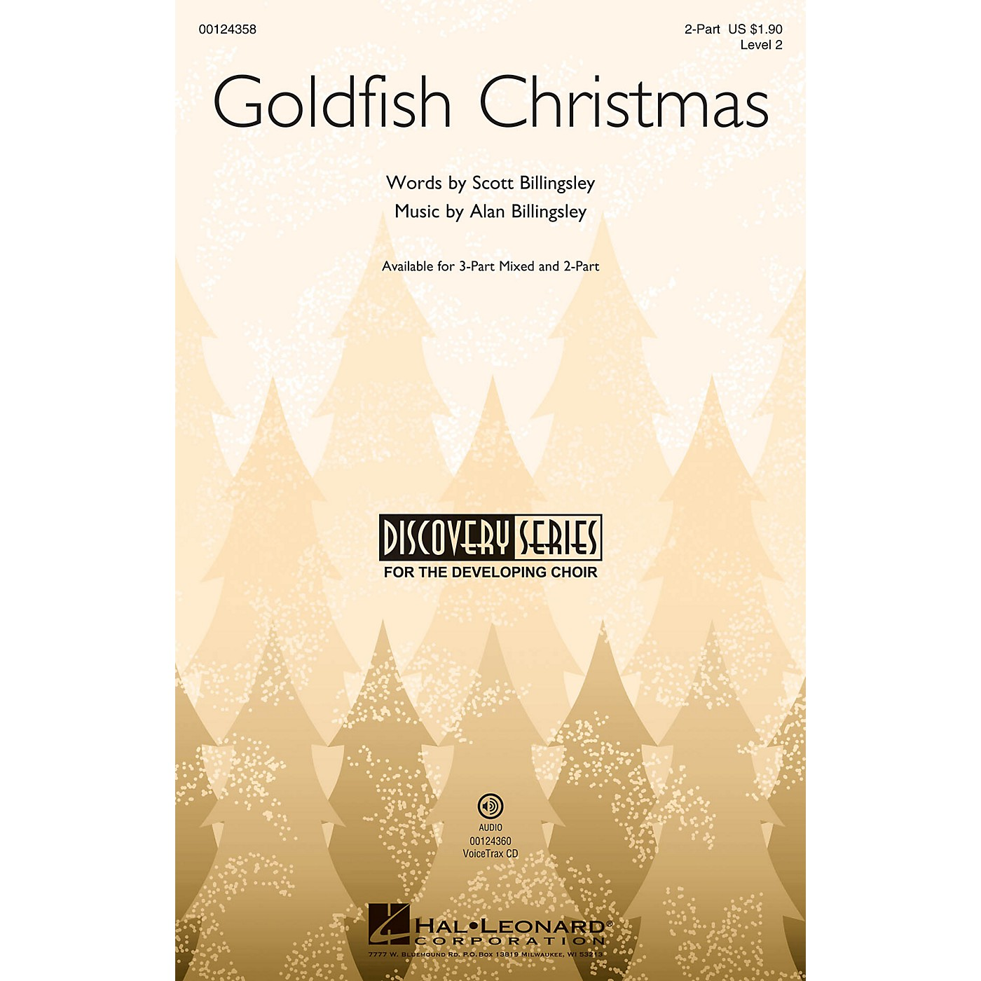 Hal Leonard Goldfish Christmas (Discovery Level 2) 2-Part composed by Alan Billingsley thumbnail