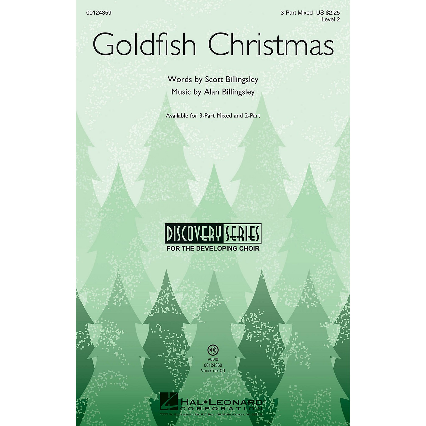 Hal Leonard Goldfish Christmas (Discovery Level 2) VoiceTrax CD Composed by Alan Billingsley thumbnail