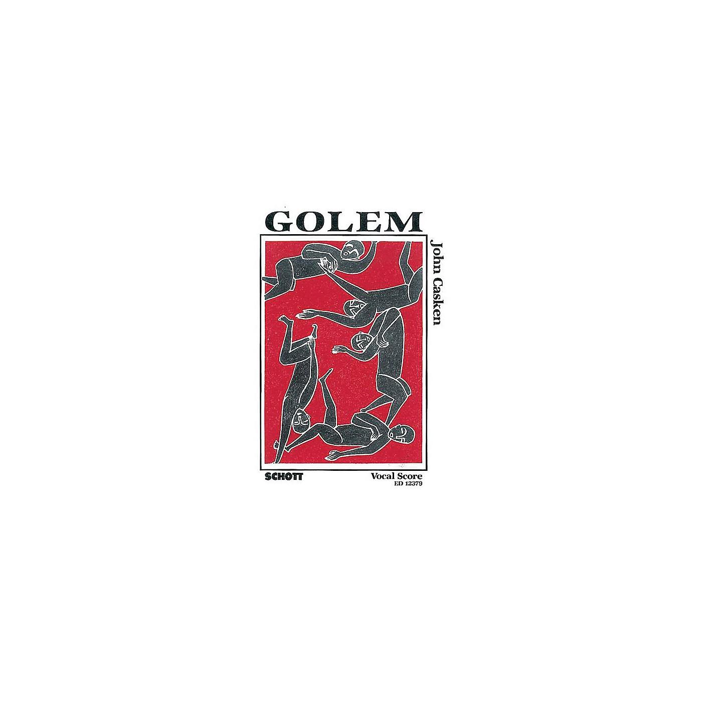 Schott Golem (Vocal Score) Composed by John Casken thumbnail