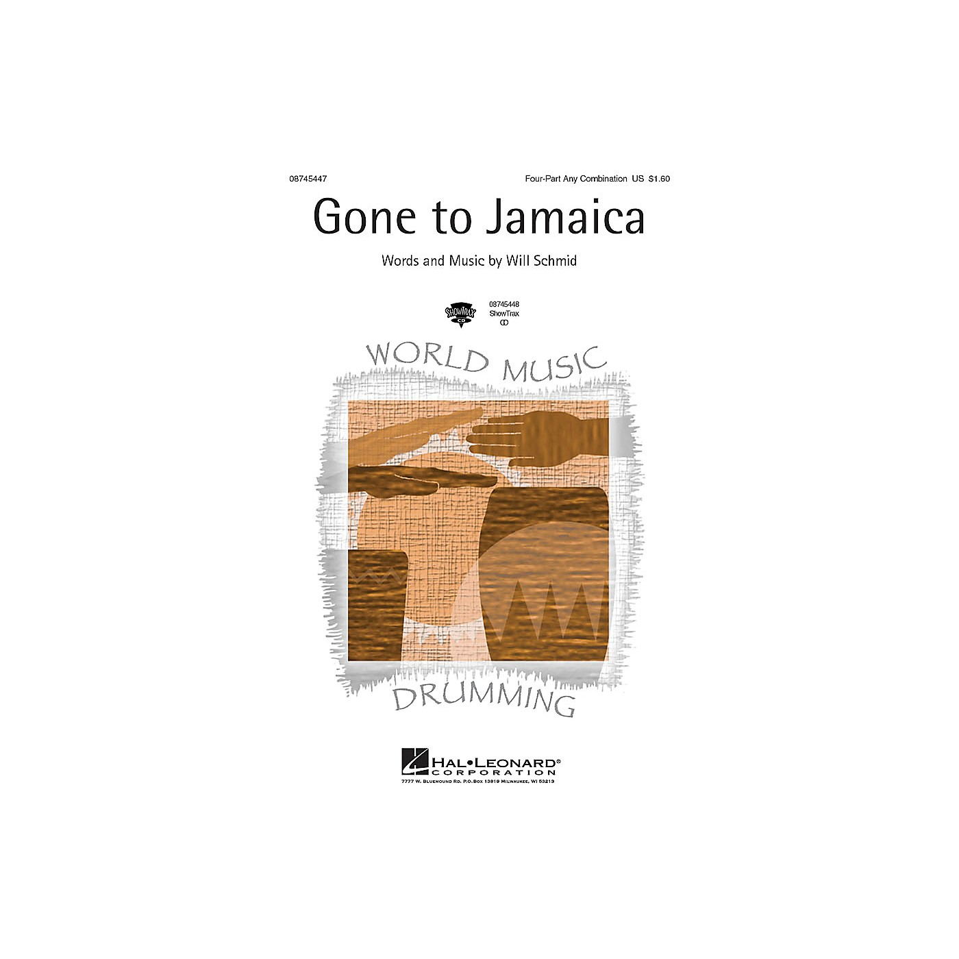 Hal Leonard Gone to Jamaica ShowTrax CD thumbnail