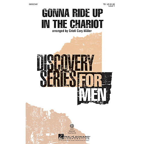 Hal Leonard Gonna Ride Up in the Chariot (Discovery Level 1) TB arranged by Cristi Cary Miller thumbnail