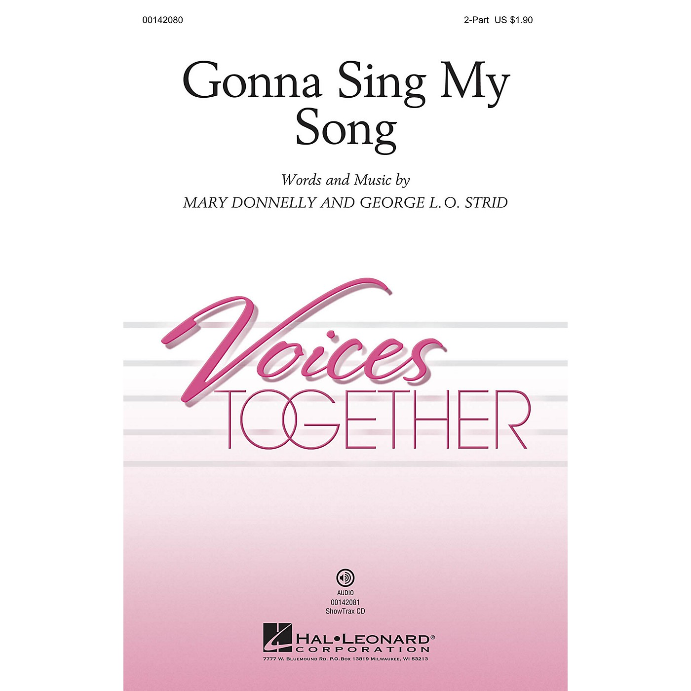 Hal Leonard Gonna Sing My Song 2-Part composed by Mary Donnelly thumbnail
