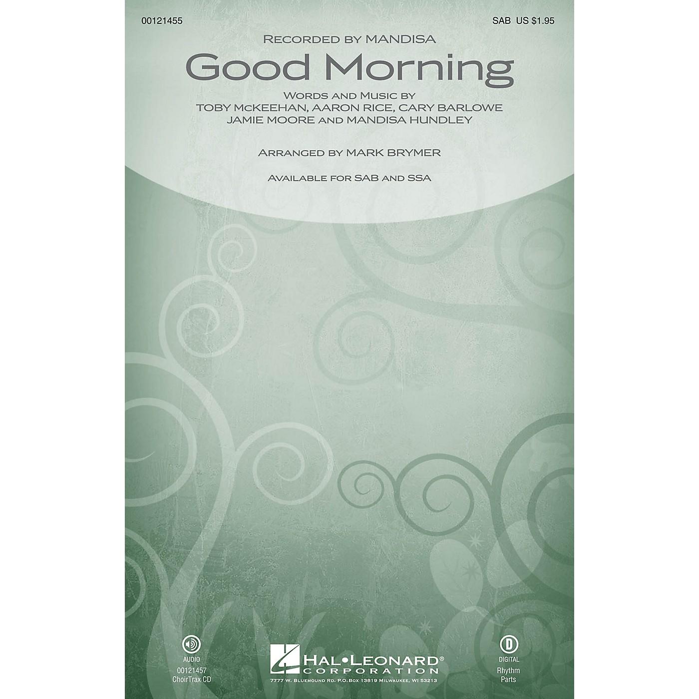 Hal Leonard Good Morning CHOIRTRAX CD by Mandisa Arranged by Mark Brymer thumbnail