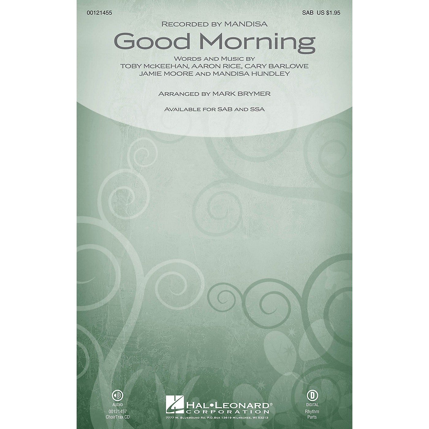 Hal Leonard Good Morning SAB by Mandisa arranged by Mark Brymer thumbnail