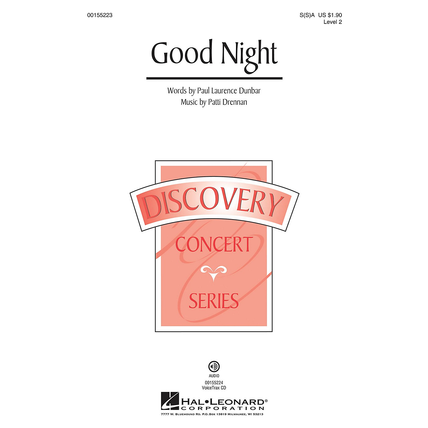 Hal Leonard Good Night (Discovery Level 2) VoiceTrax CD Composed by Patti Drennan thumbnail