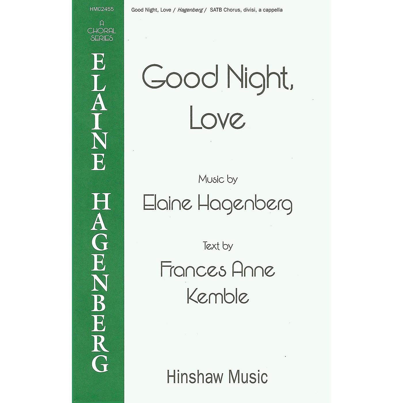 Hinshaw Music Good Night, Love SSAATTBB composed by Elaine Hagenberg thumbnail