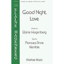 Hinshaw Music Good Night, Love SSAATTBB composed by Elaine Hagenberg