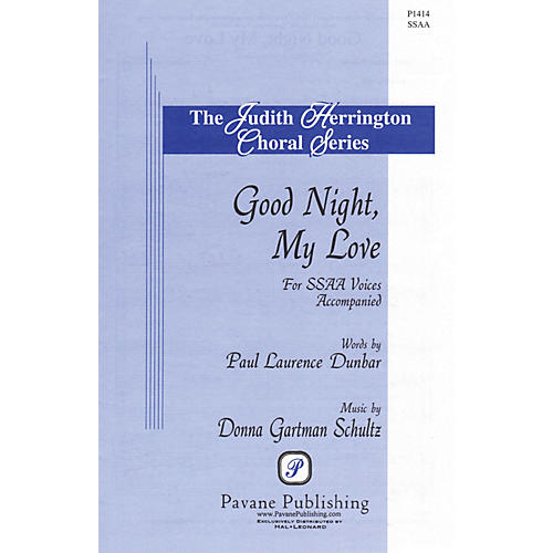 Pavane Good Night, My Love SSAA composed by Donna Gartman Schultz thumbnail