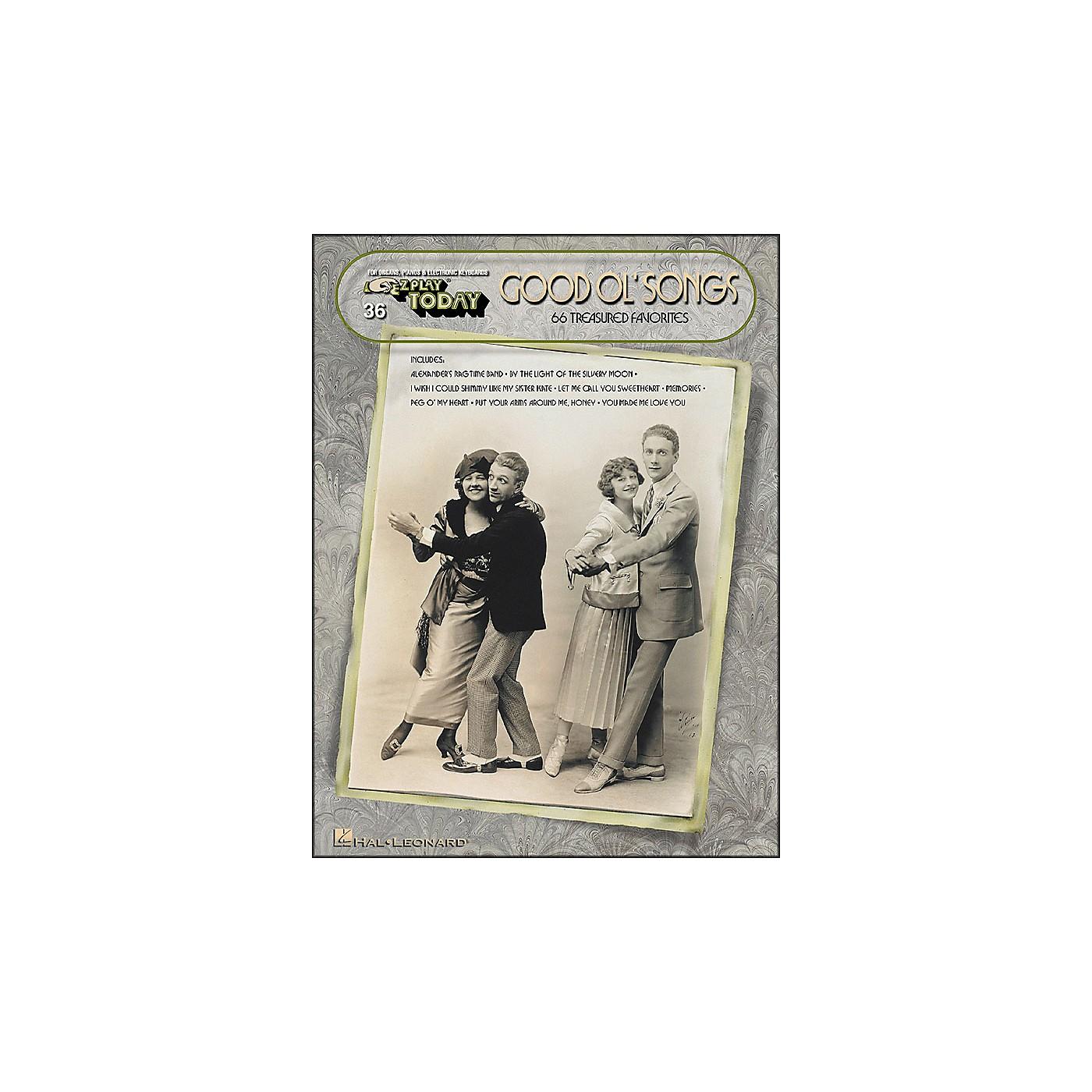Hal Leonard Good Ol Songs (66 Treasured Favorites) E-Z Play 36 thumbnail