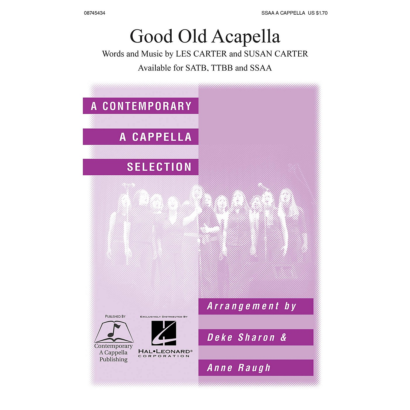 Hal Leonard Good Old A Cappella SSAA A Cappella arranged by Deke Sharon and Anne Raugh thumbnail