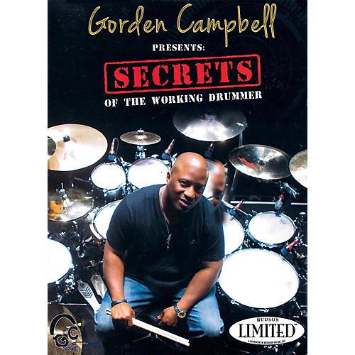 Hudson Music Gorden Campbell - Secrets of the Working Drummer DVD thumbnail
