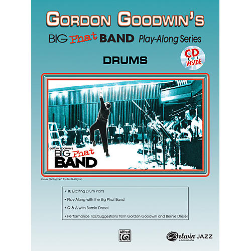 Alfred Gordon Goodwin's Big Phat Band Play Along Series Drums Book & CD thumbnail