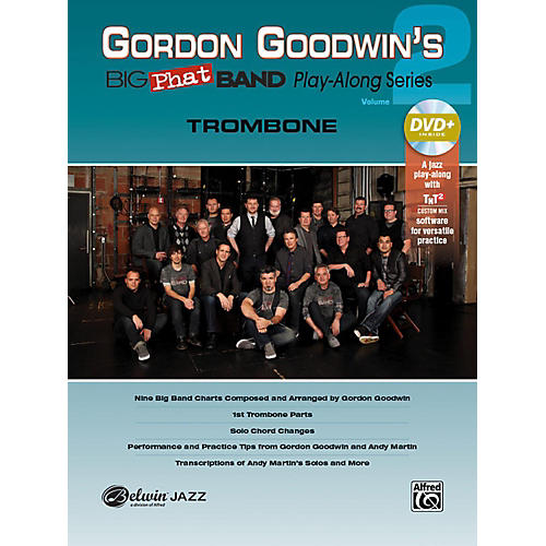 Alfred Gordon Goodwin's Big Phat Band Play-Along Series Trombone Vol. 2 Book & DVDRom thumbnail