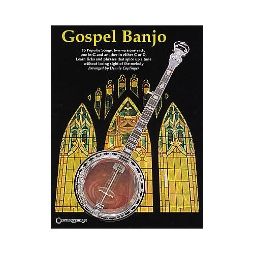 Centerstream Publishing Gospel Banjo Songbook thumbnail