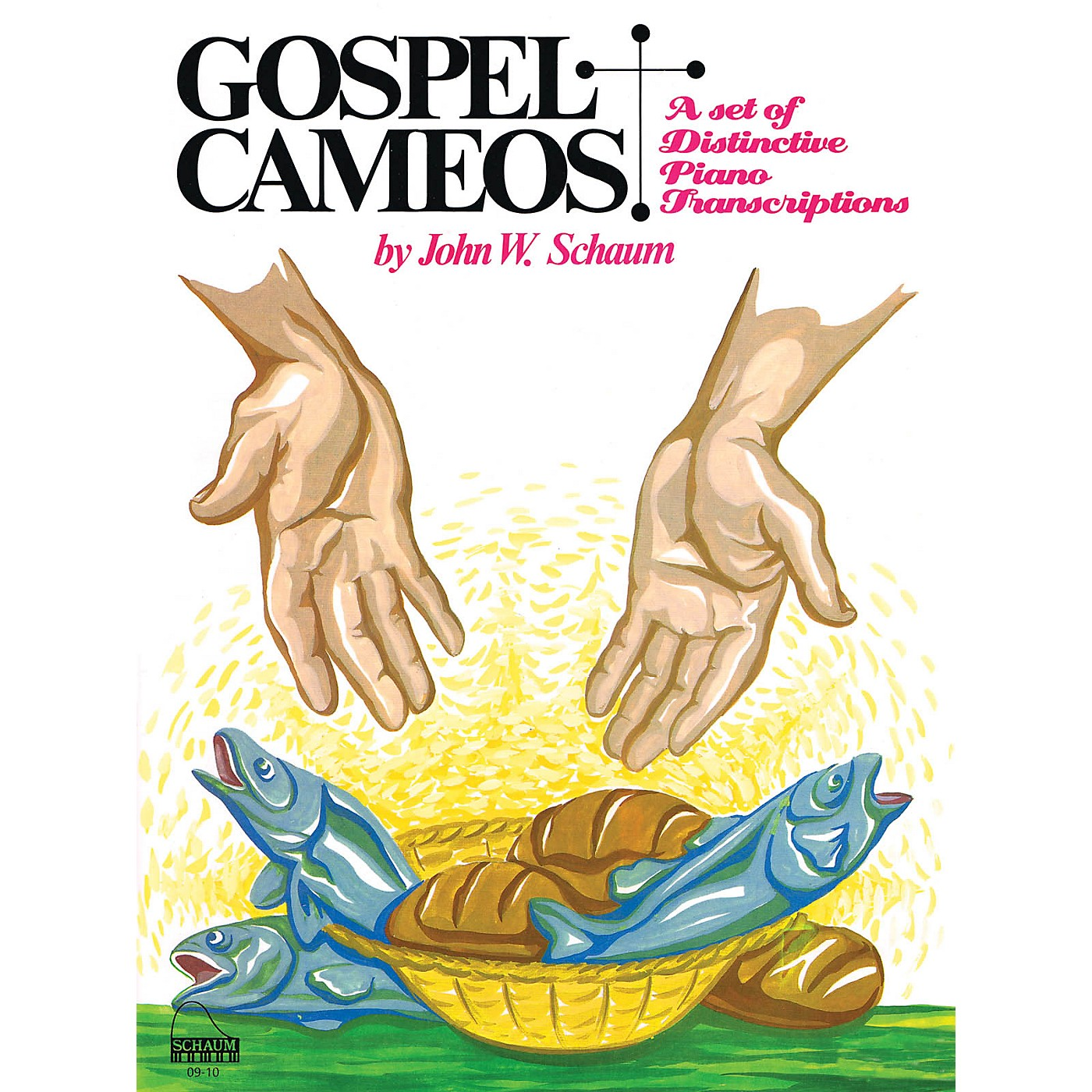 SCHAUM Gospel Cameos Educational Piano Series Softcover thumbnail