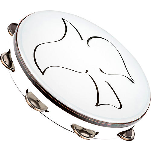 Meinl Gospel Praise and Worship Church Tambourine with Synthetic Head and Steel Jingles thumbnail