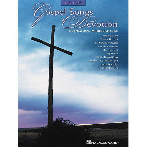 Hal Leonard Gospel Songs Of Devotion - 50 Inspirational Favorites For Easy Piano thumbnail
