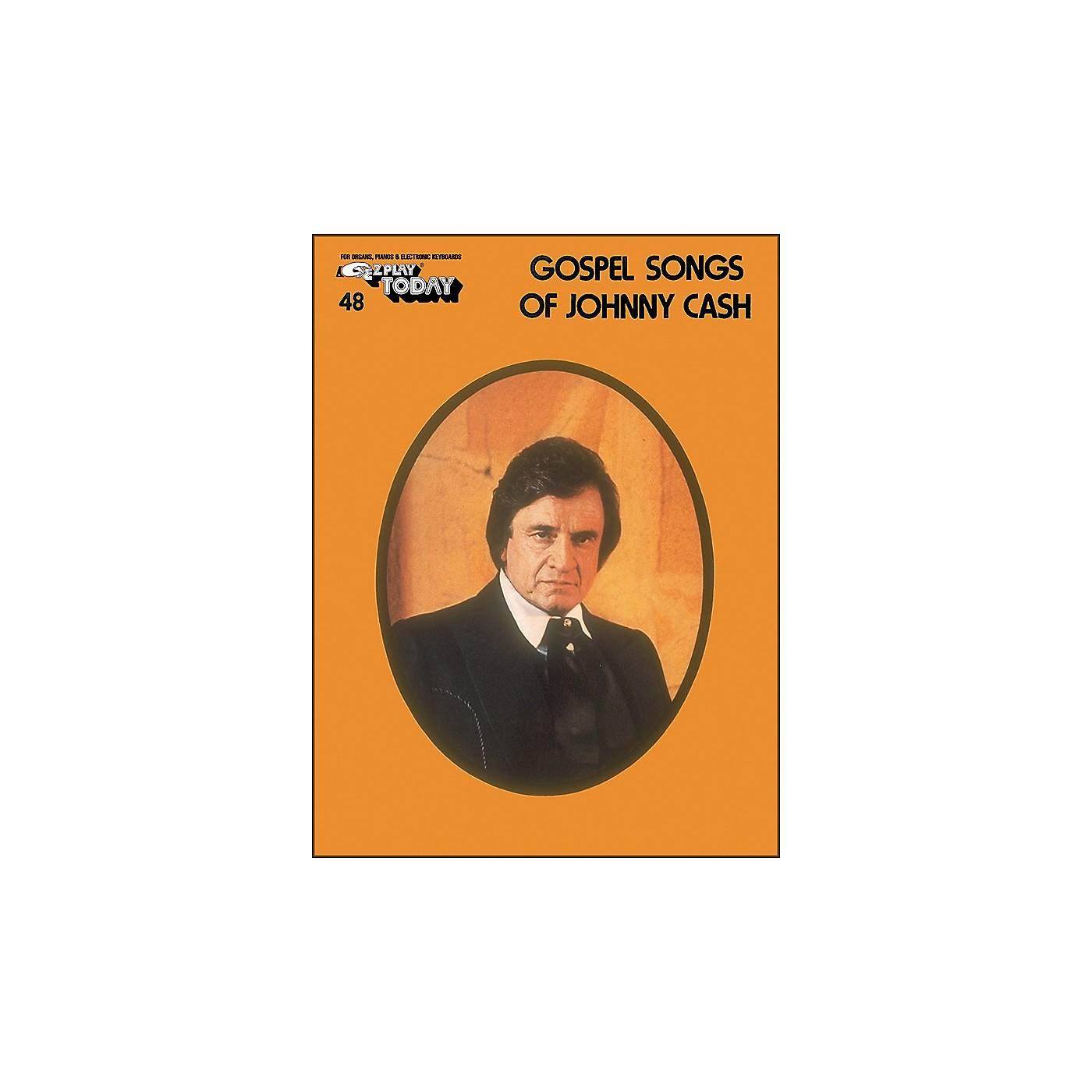 Hal Leonard Gospel Songs Of Johnny Cash E-Z Play 48 thumbnail