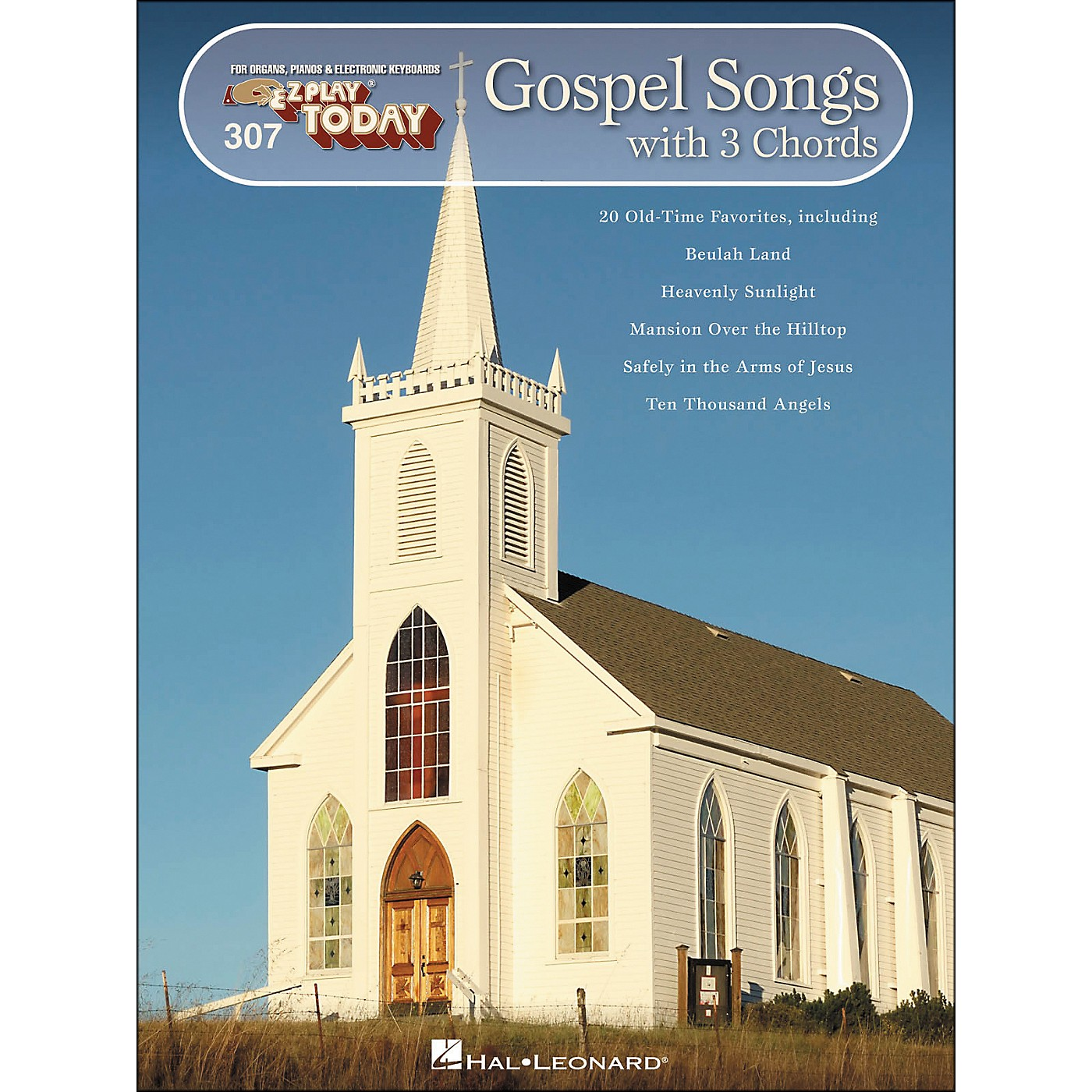 Hal Leonard Gospel Songs with 3 Chords E-Z Play 307 thumbnail