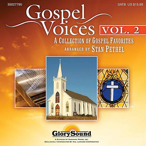 Shawnee Press Gospel Voices - Volume 2 Listening CD arranged by Stan Pethel thumbnail