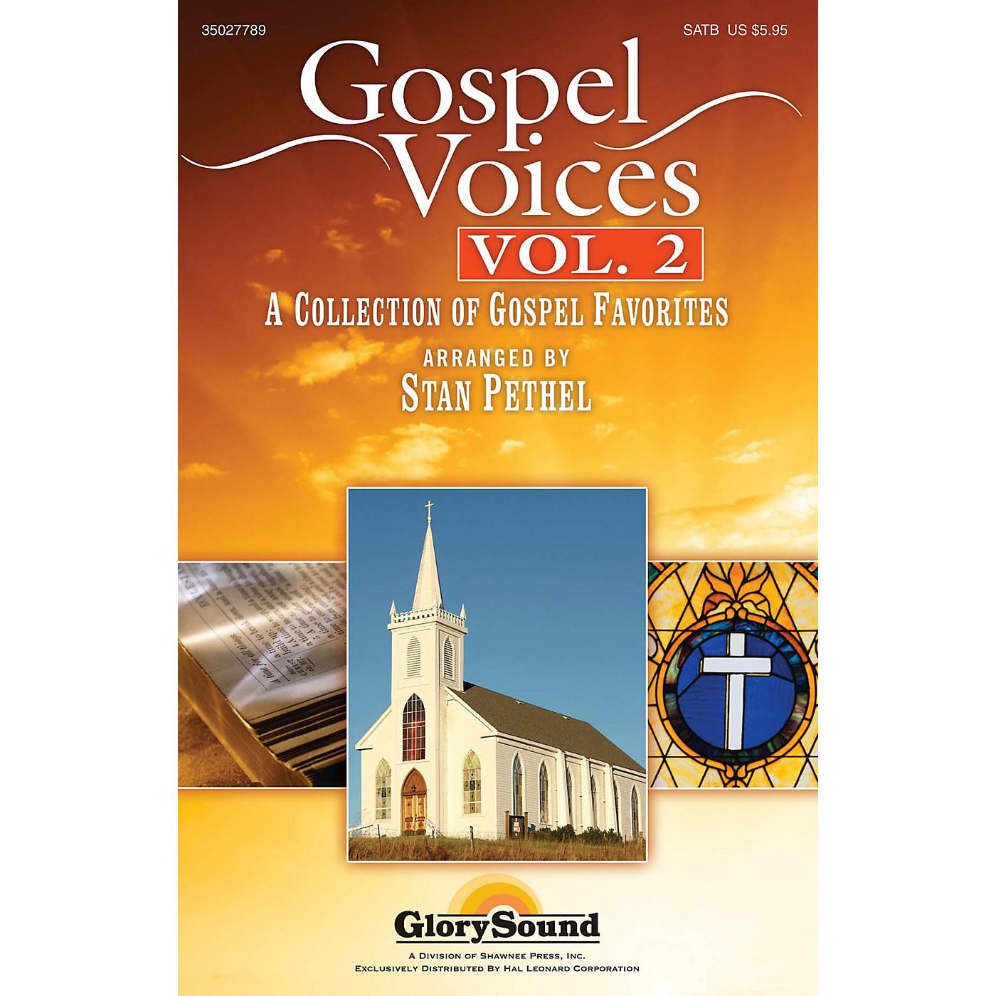 Shawnee Press Gospel Voices - Volume 2 SATB arranged by Stan Pethel thumbnail