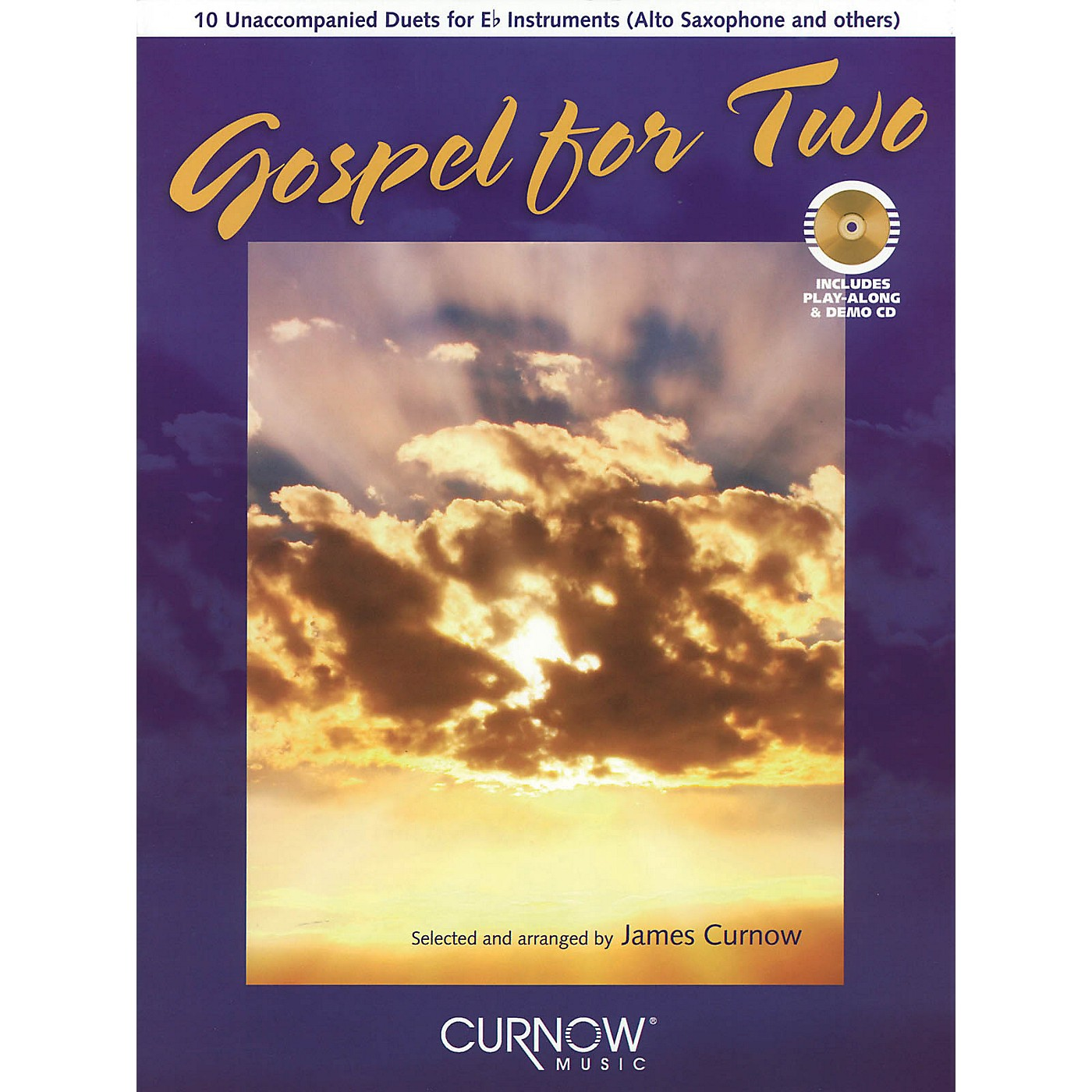 Curnow Music Gospel for Two (Bb Instruments) Curnow Play-Along Book Series thumbnail